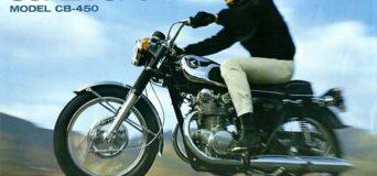Honda CB450 SS Brochure